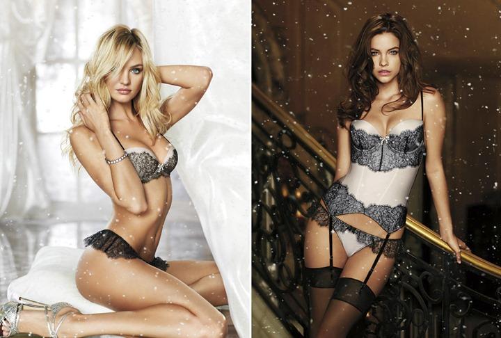 Ангелы Victoria`s Secret в праздничной фотосессии