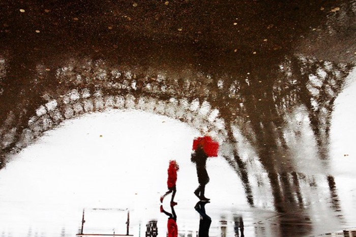 """""""Париж и дождь"""", фотографии"""