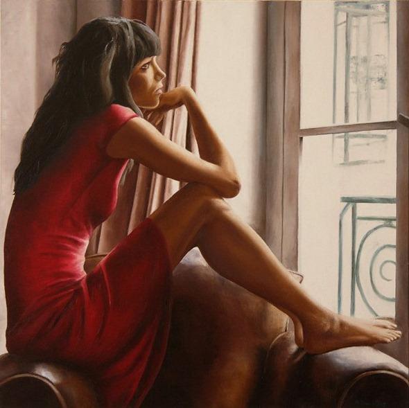 Художница Annick Bouvattier