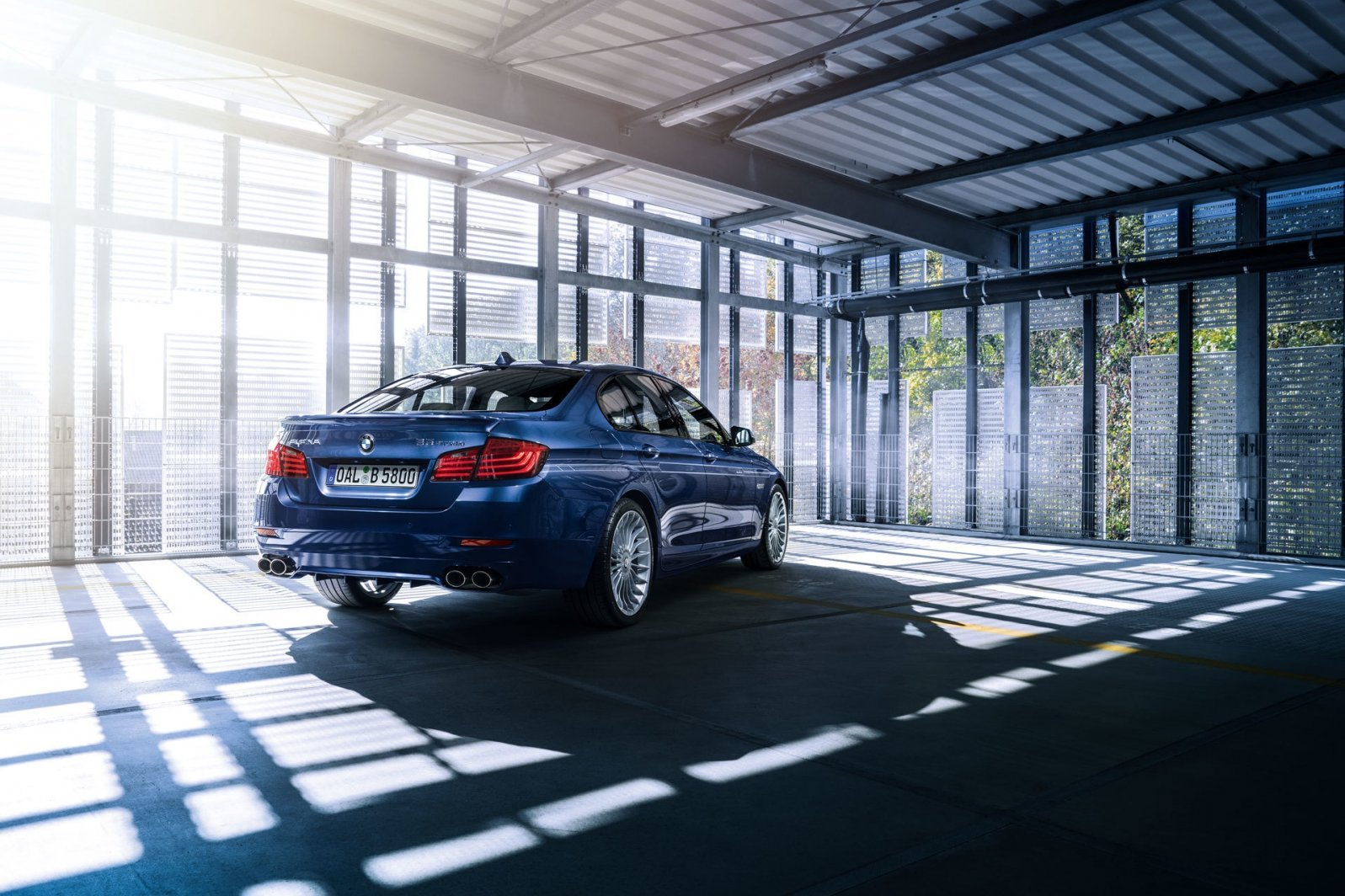 BMW Alpina B5 Bi-Turbo 2018 года