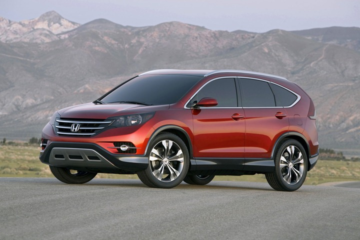 Honda представила кроссовер CR V 2012 года
