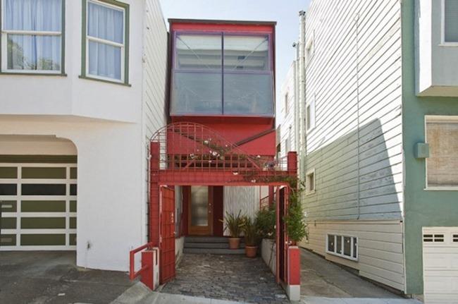 Дом шириной десять футов в Сан Франциско, Калифорния