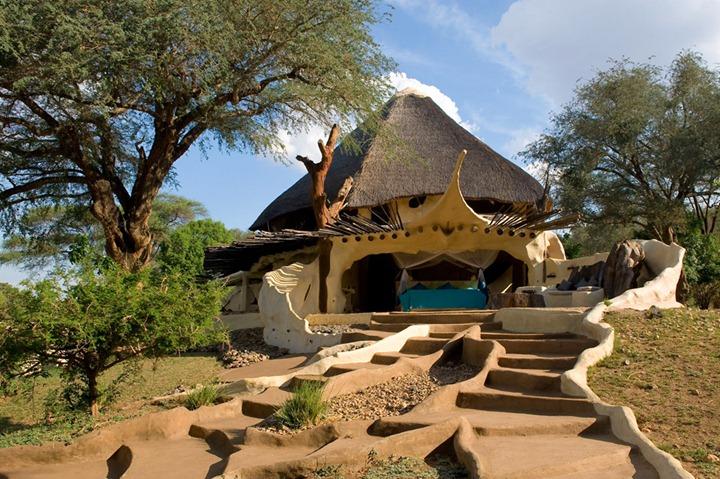 Особняк в самом центре Национального парка Замбии