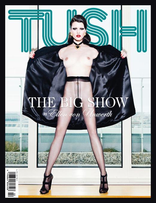 Кристал Ренн для журнала Tush