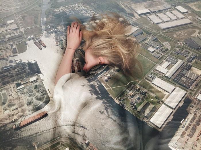 Сочетание фантазии и осязаемости в работах фотографа