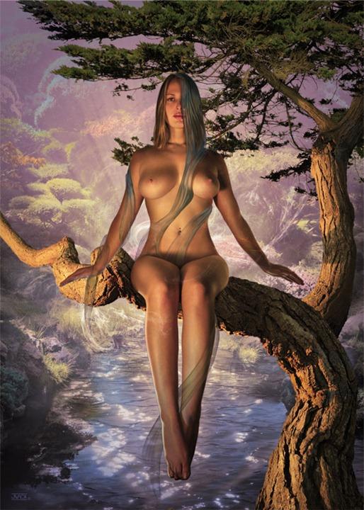 Эротические работы цифрового художника Jeff Wack