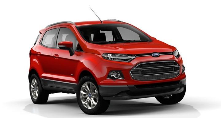 Ford EcoSport: динамичная экология