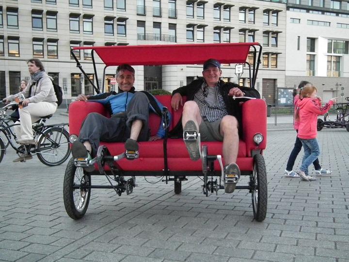 "Проект ""Sofa bike"" (Диван велосипед) от Jacek Holubowicz"