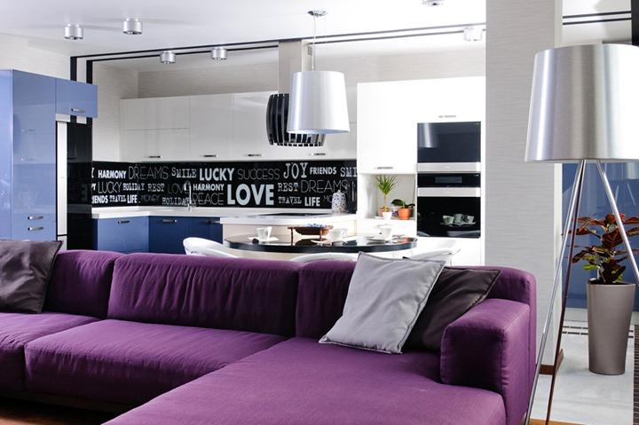 Современная квартира для молодой пары в Одессе