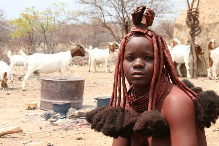 Жизнь племени Химба