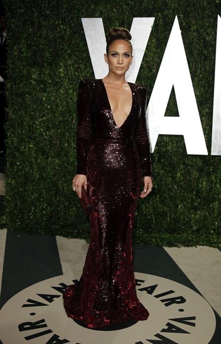 Лукбуки знаменитостей на Vanity Fair Oscar Party