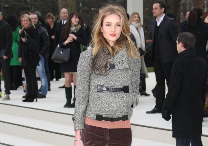 Звездные гости модного показа Burberry