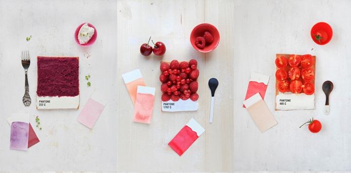 Тарталетки в цветах Pantone от арт директора Emilie Guelpa