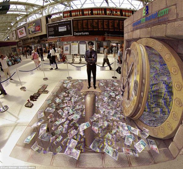 Трехмерное искусство от Курта Веннера