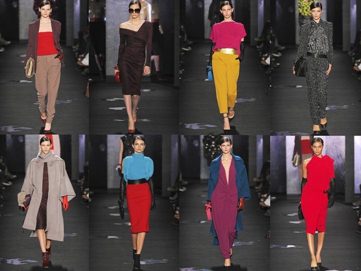 Неделя моды в Нью Йорке: Diane von Furstenberg осень 2012