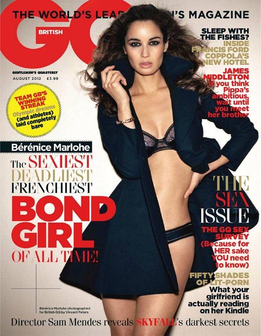 Девушка Бонда в откровенной фотосессии GQ