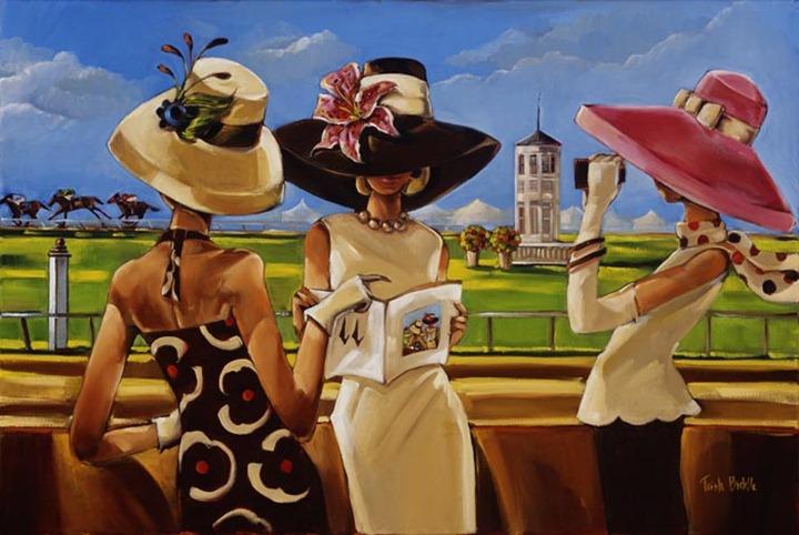 Роскошная жизнь в иллюстрациях Trish Biddle