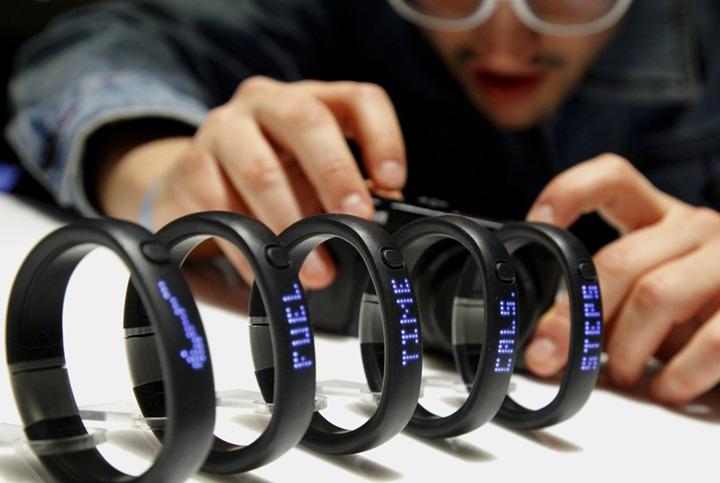 NIKE+ FuelBand поможет оставаться активными в повседневной жизни