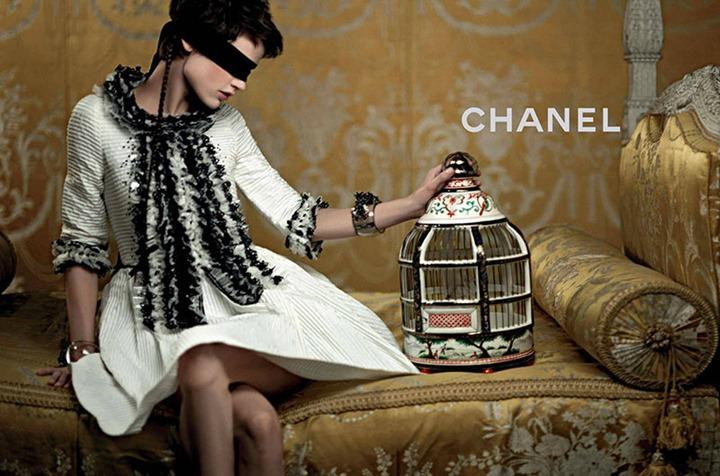 Рекламная кампания Chanel Cruise 2013