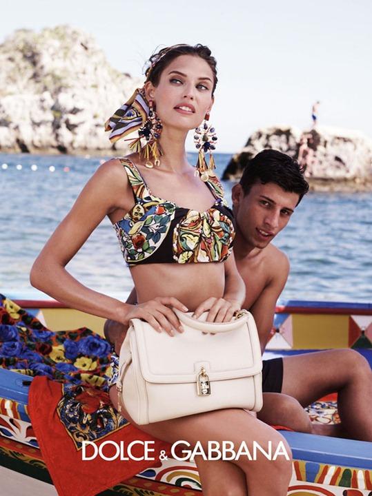 Dolce & Gabbana весна   лето 2013