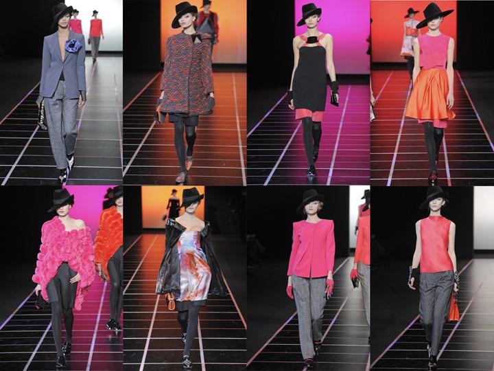 Неделя моды в Милане: Giorgio Armani осень зима 2012/2013