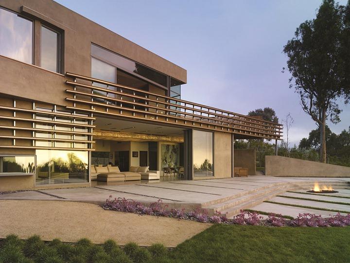 Современная резиденция в Калифорнии