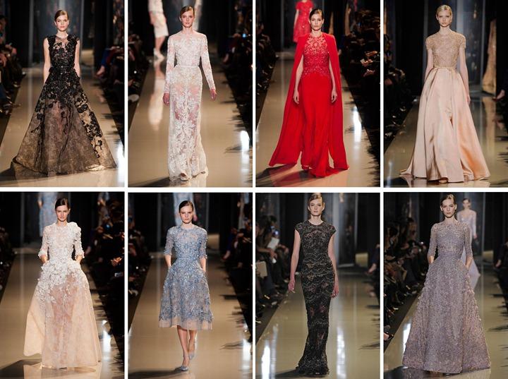 Неделя моды в Париже: Elie Saab весна 2013