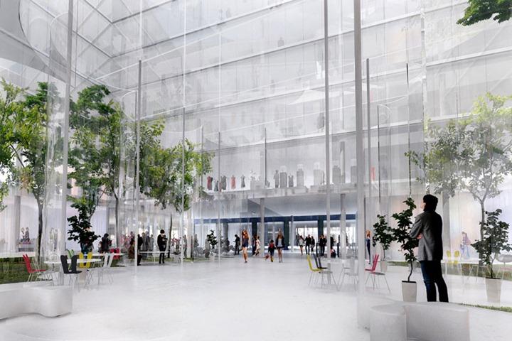 План нового дизайна парижского La Samaritaine