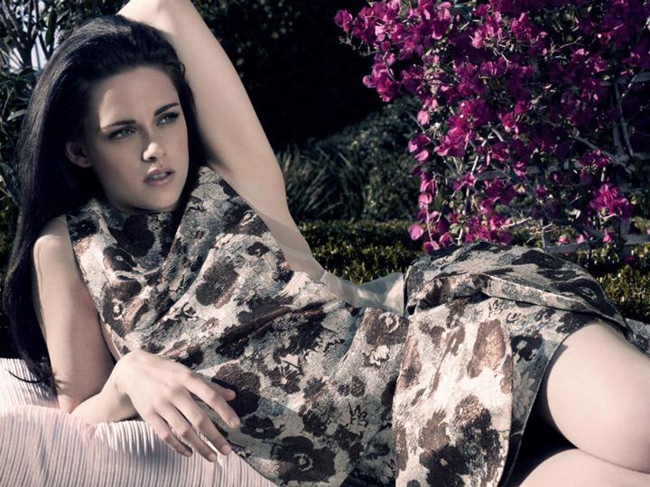 Женственная Кристен Стюарт в фотосессии Elle