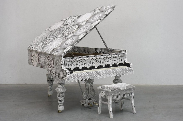 Гигантские скульптуры Joana Vasconcelos