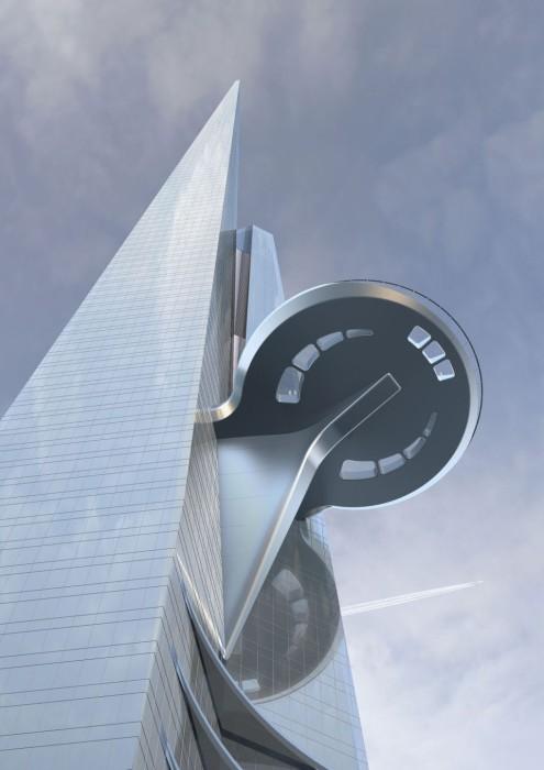 Архитектура: сооружение высотой более одного километра