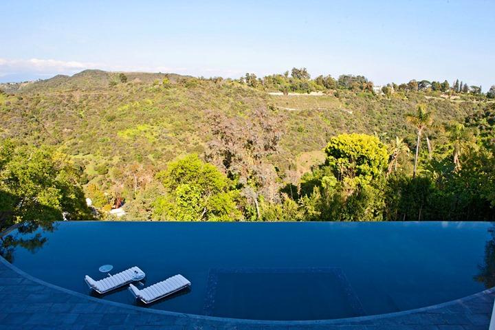 Роскошный дизайн особняка на Голливудских холмах, за $12 миллионов