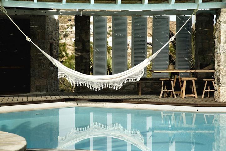 Богемный отдых в отеле San Giorgio на острове Миконос