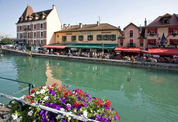 Отдых в городе Анси, Франция