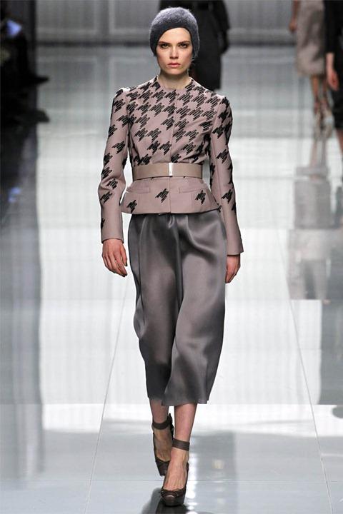 Неделя моды в Париже: Christian Dior осень зима 2012/2013