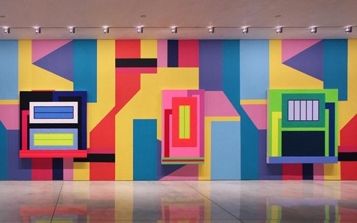 Совместная работа Питера Хелли и Алессандро Мендини на Мэри Бун Галерея, Нью Йорк