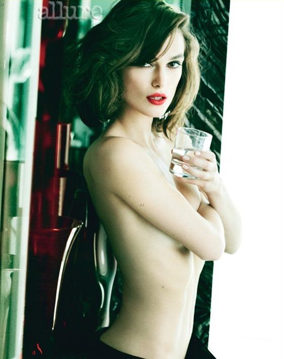 """Кира Найтли: """"Я не возражаю обнажить грудь. Но не более того"""""""