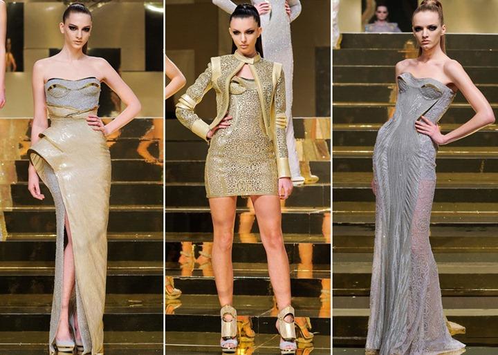 Неделя высокой моды в Париже: Versace Haute Couture весна 2012