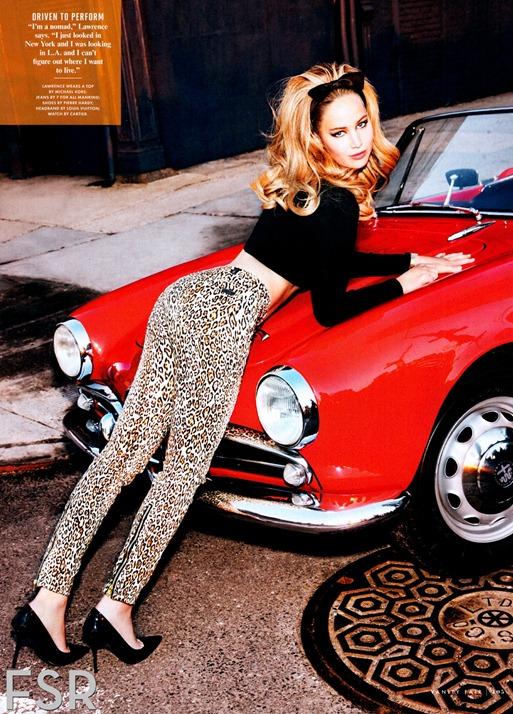Дженнифер Лоуренс в красочной фотосессии Vanity Fair