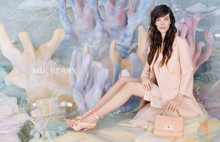 Рекламная кампания Mulberry весна 2013
