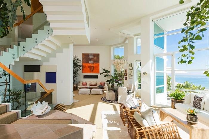 Роскошный рай в доме на берегу океана, Малибу