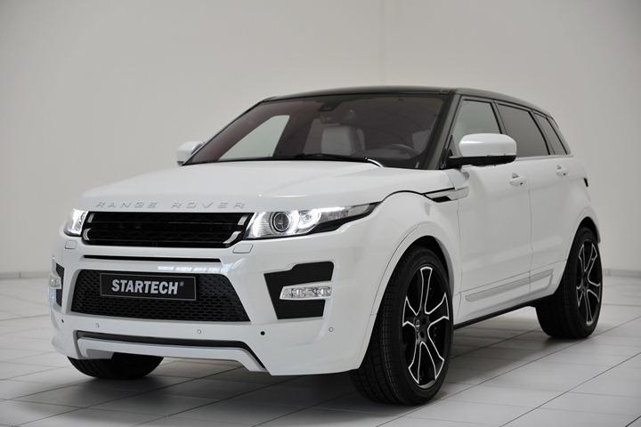 Пакет тюнинга для нового Range Rover Evoque