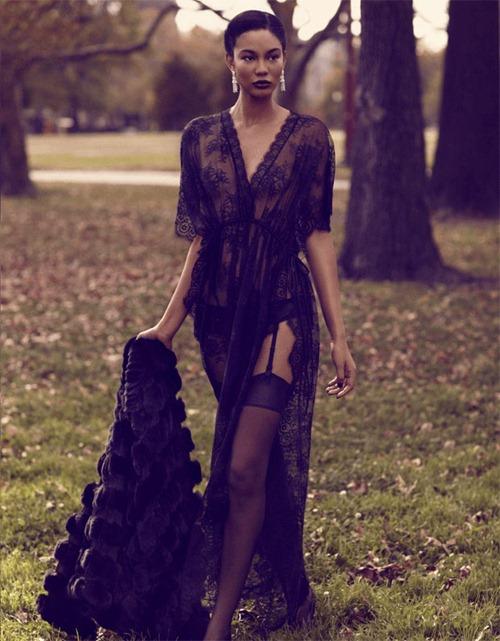 Супермодель Шанель Иман в Deluxe Magazine