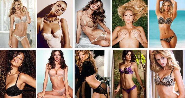 Самые сексуальные модели 2012