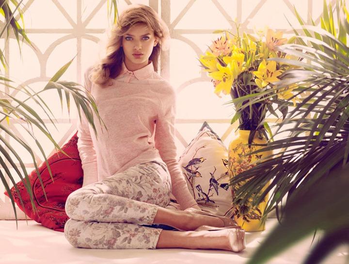 Бриджи Хейнен в рекламной кампании Stradivarius