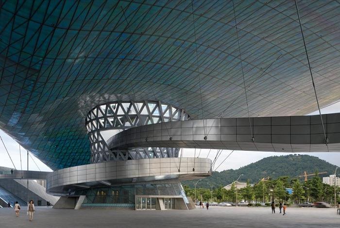 Кинотеатр в Пусане, Корея