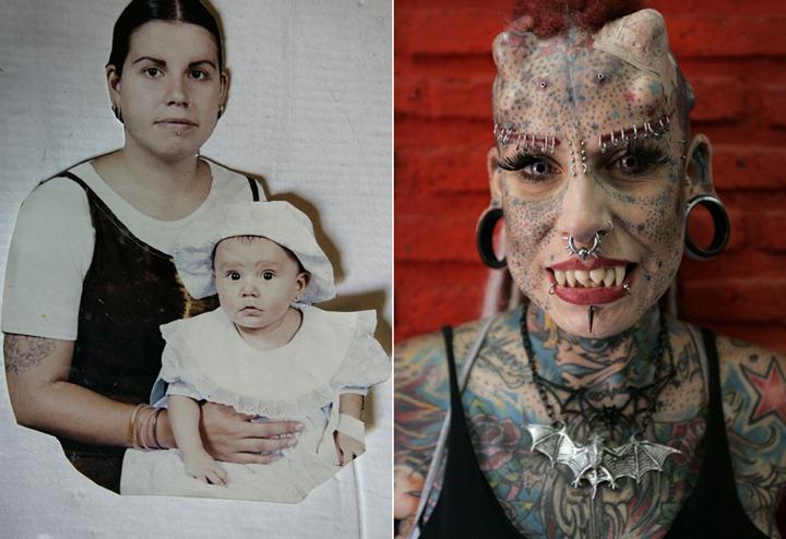 Maria Jose Cristerna – женщина   вампир