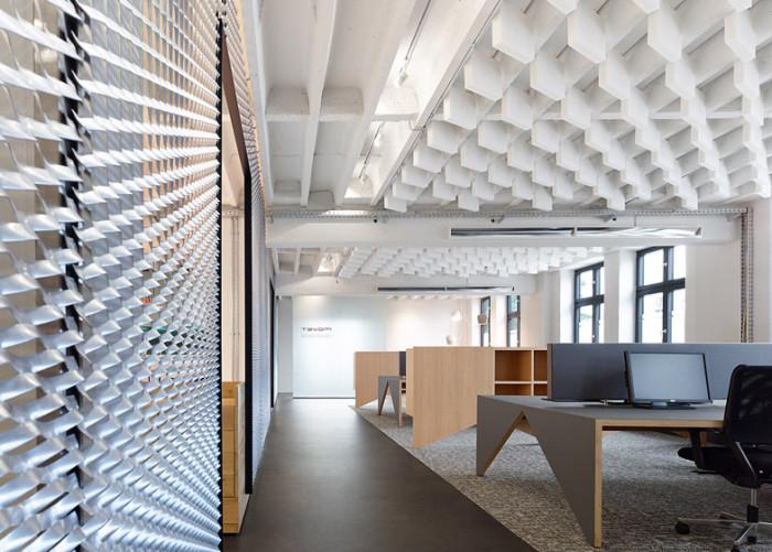 Немецкий офис в современном стиле