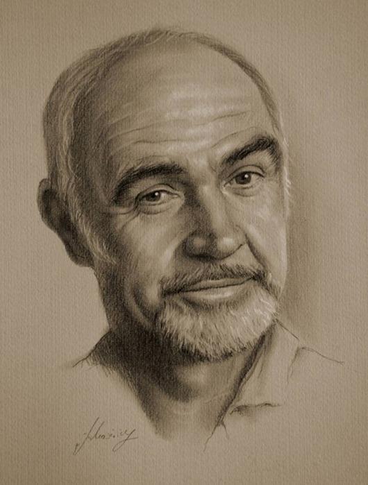 Голливудские знаменитости от художника Krzysztof Lukasiewicz. Часть 2