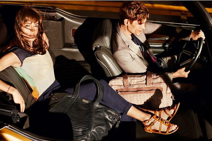 Рекламная кампания Hugo Boss весна 2013